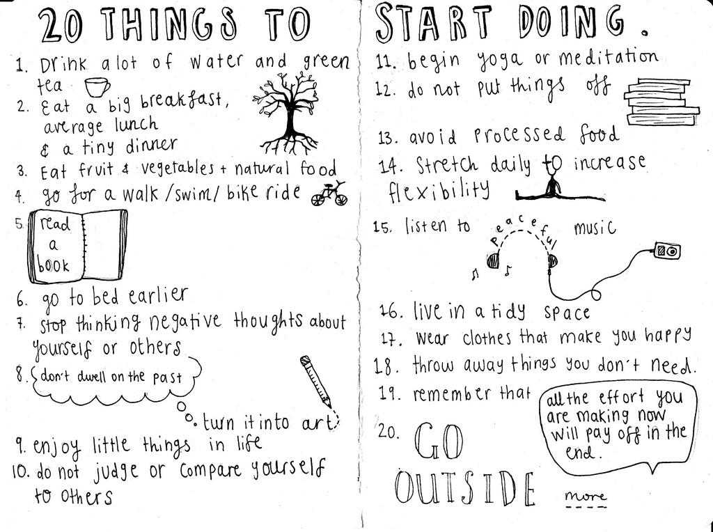 20 Things To Start Doing Asksablog